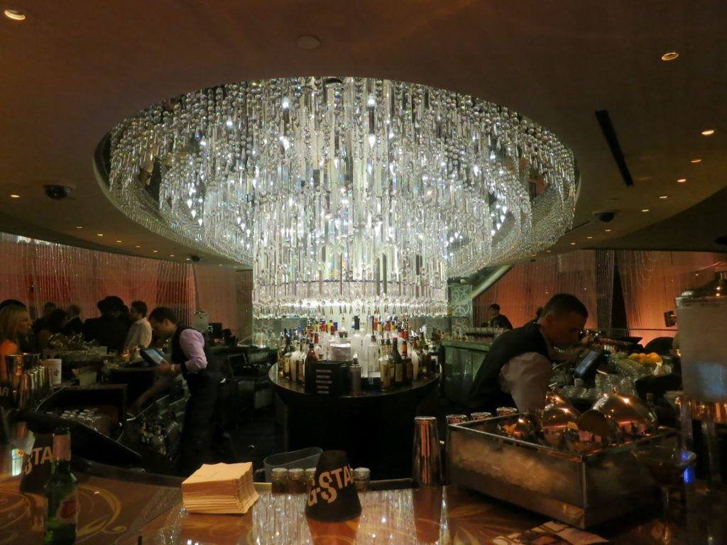 The chandelier bar at the cosmopolitan photos aloadofball Gallery