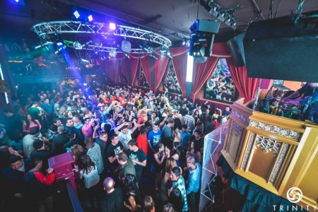 A look at one of Trinity Nightclubs dance floors on a packed night