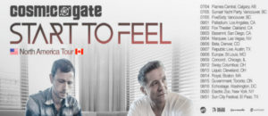 cosmic gate start to feel tour