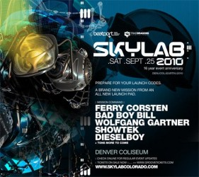 Original Flyer for Skylab 2010.
